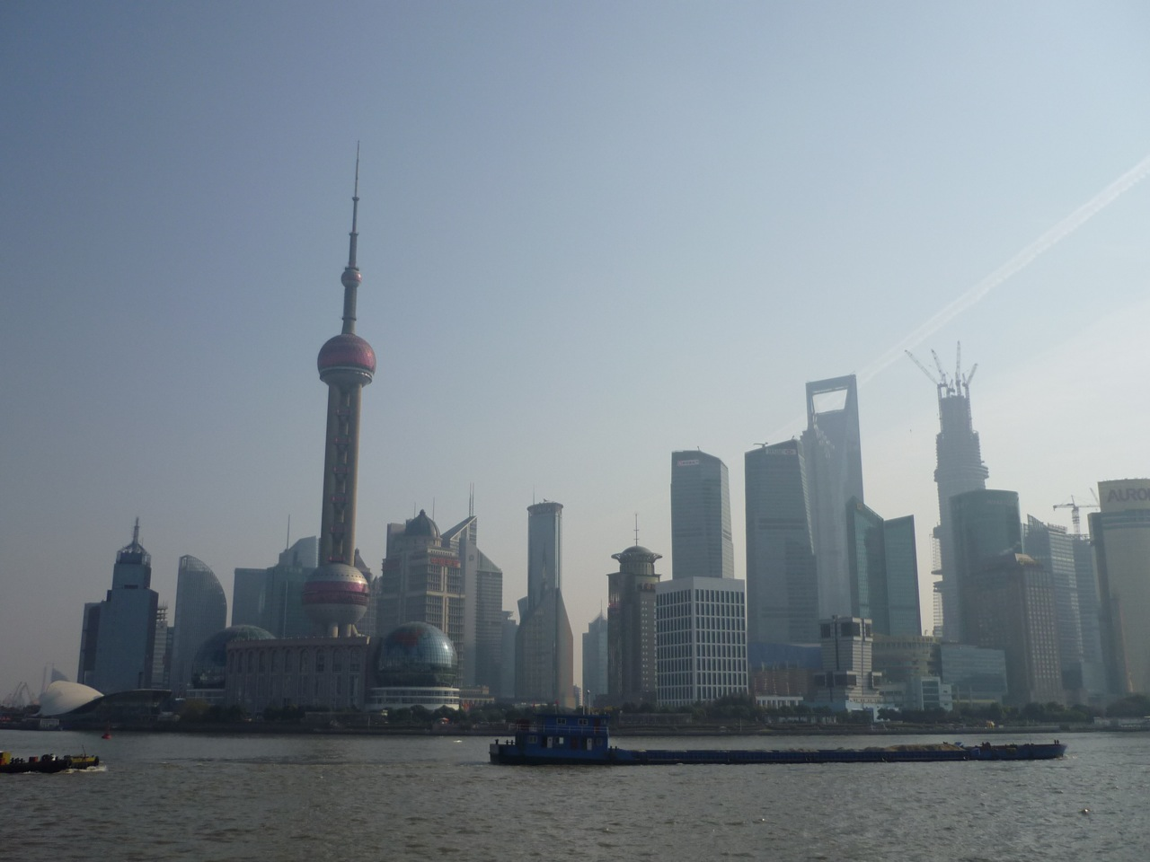Pudong mit Pearl-Tower