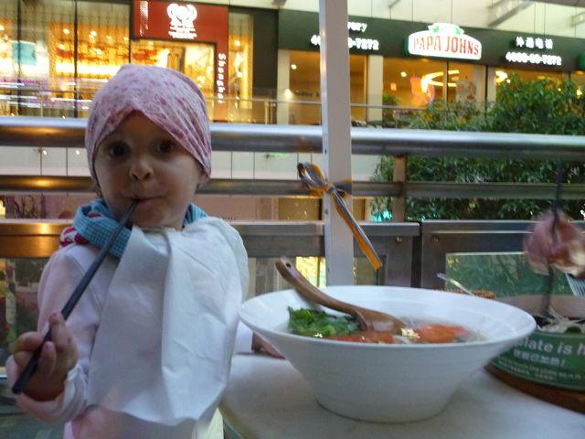 Riesen Suppenpot beim Vitnamesen