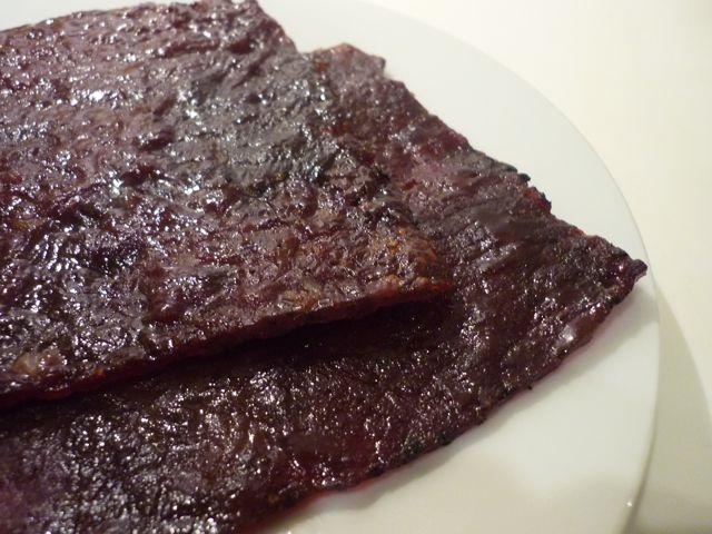 Getrocknetes/gegrilltes Fleisch