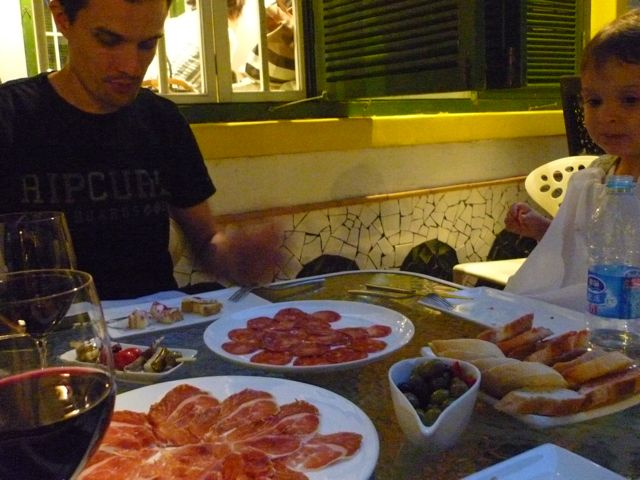 Antipasti in Peking